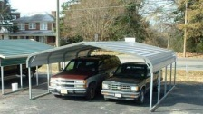 18x21x6, rounded roof carport