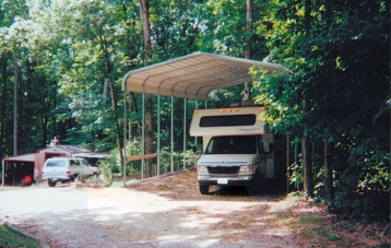 RV COVER-Rounded Edge Style Roof