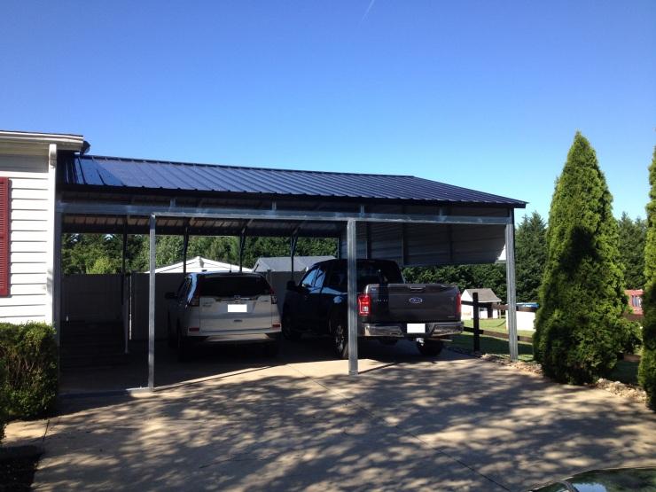 custom side garage, crigger
