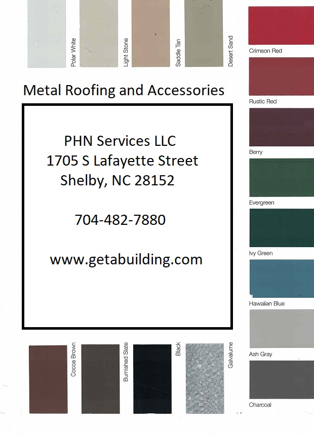 color chart for phn